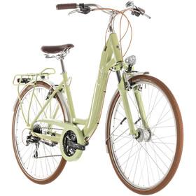 Cube Ella Ride Stadsfiets Dames Easy Entry groen
